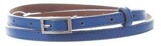 Yigal Azrouel Cut25 by Skinny Leather Hip Belt w/ Tags