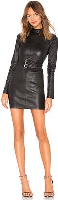 RtA Domino Leather Dress