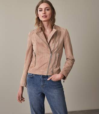 Reiss Roux Suede Jacket