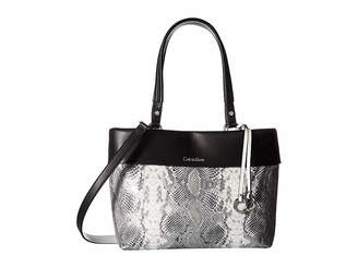Calvin Klein Snake East/West Tote Tote Handbags