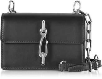 Alexander Wang Hook Black Leather Small Crossbody Bag