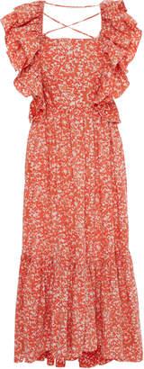 Ulla Johnson Freida Printed Cotton Dress