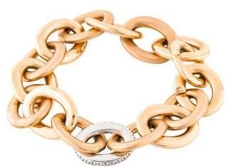 Roberto Coin 18K Diamond Oval Link Bracelet