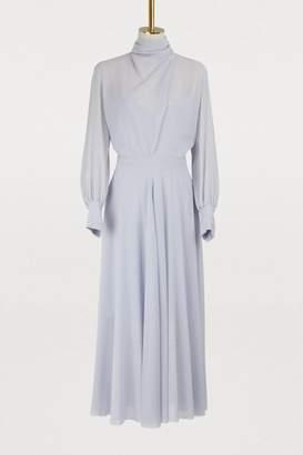 Nina Ricci Silk crepe dress