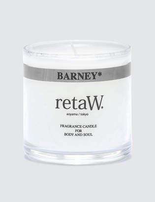retaW Barney Fragrance Candle
