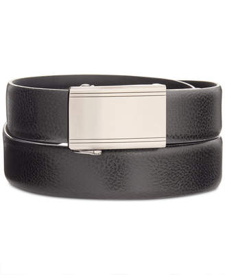 Ryan Seacrest Distinction 100% Italian Leather Men's Exact Fit Dress Belt, Created for Macy's