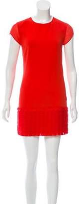 Ted Baker Short Sleeve Embellished Dress