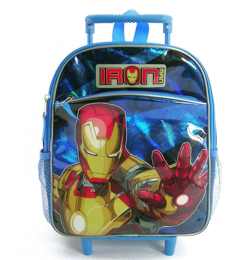 Iron Man rolling backpack - kids