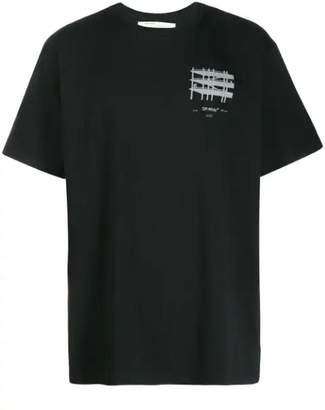 Off-White Off White industrial short sleeve t-shirt black