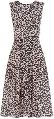N°21 N 21 Leopard Print Dress