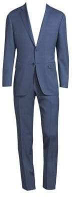 Canali Mini Check Jacket
