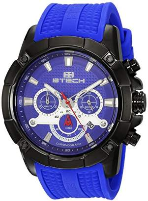 BTECH Unisex BT-CD-322-04 Delta Analog/Chronograph Silicone Strap Band Wrist Watch