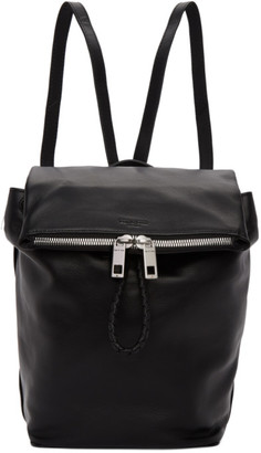 Rag & Bone Black Leather Loner Backpack