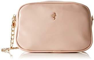 Paco Mena Women Cross-Body Bag Pink Size: fits All