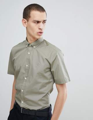 French Connection Poplin Short Sleeve Shirt