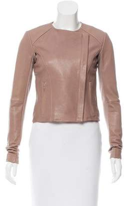 Veda Lightweight Leather Jacket w/ Tags
