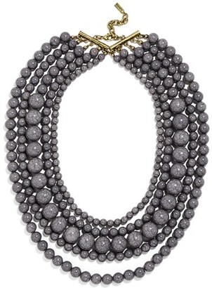 Women's Baublebar 'Globe' Multistrand Beaded Necklace $38 thestylecure.com
