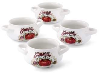 Campbell's Set of 4 pcs , 18oz soup mug with two handles WMT-L146