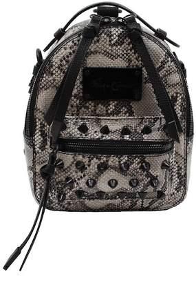 Foley + Corinna Skyline Bandit Snake Embossed Spiked Backpack