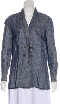 Stone_Cold_Fox Stone Cold Fox Lightweight Linen Coat