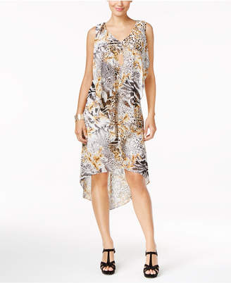 Thalia Sodi Ruffled High-Low Shift Dress, Created for Macy's $89.50 thestylecure.com