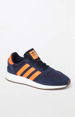 adidas I-5923 Navy & Orange Shoes