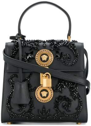 Versace embellished Medusa shoulder bag