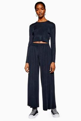 Topshop **Knitted Wide Leg Trousers by Boutique