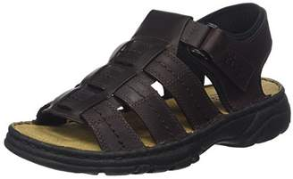 TBS Men's ROUPLE Open Toe Sandals, Brown (Marron 005)