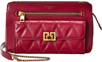 Givenchy Pocket Bag Diamond Quilted Leather Crossbody