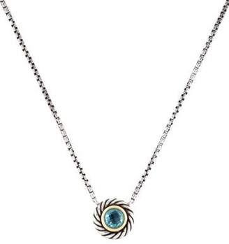 David Yurman Topaz Color Classics Pendant Necklace