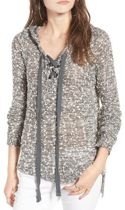 Women's Rip Curl Lace-Up Hoodie $59.50 thestylecure.com