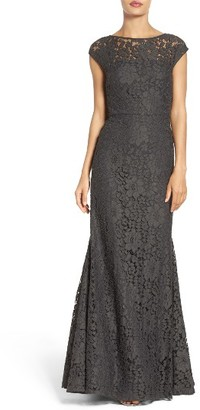 Women's Vera Wang Mermaid Gown $428 thestylecure.com