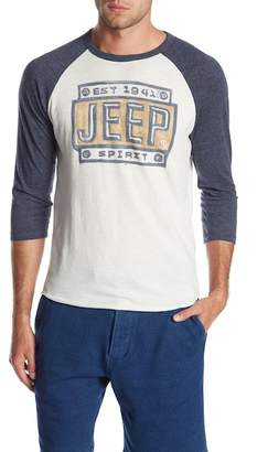 Lucky Brand 3/4 Sleeve Graphic Tee