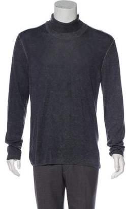 John Varvatos Silk & Cashmere Knit Sweater