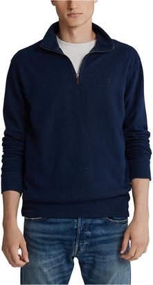 Polo Ralph Lauren Men Stand-Collar Quarter-Zip Sweater