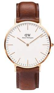 Daniel Wellington Classic St Mawes Rose Gold Watch