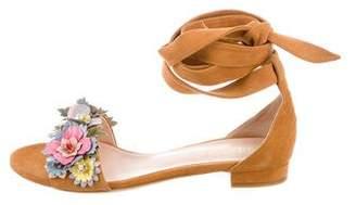 Gedebe Flat Suede Sandals