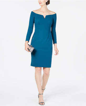 Vince Camuto Off-The-Shoulder Bodycon Dress