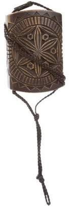 Gucci Wood Box Bag