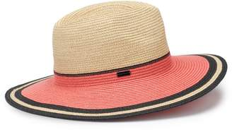 Betmar Women's Porto Braided Colorblock Sun Hat