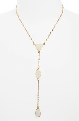 Women's Panacea Drusy Y-Necklace $48 thestylecure.com