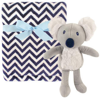 Baby Vision Hudson Baby Plush Blanket and Toy, One Size