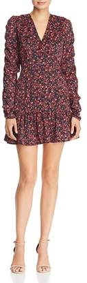 The Fifth Label Archer Floral Print A-Line Mini Dress