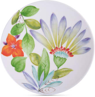 Laurie Gates Closeout! Blue Floral Dinner Plate, First at Macy's