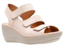 Clarks Collection By Reedly Juno Wedge Sandals