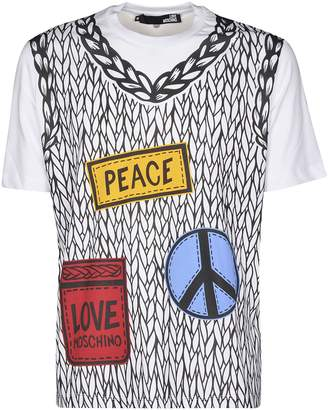 Love Moschino Placement Printed T-shirt