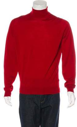 John Smedley Merino Wool Turtleneck Sweater