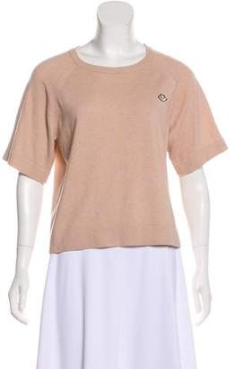 See by Chloe Short Sleeve Knit Top