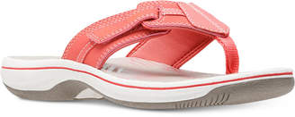 Clarks Collection Women's Brinkley Bree Flip-Flops, Created For Macy's Women's Shoes